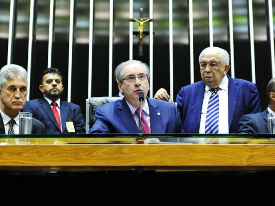 Eduardo Cunha no plenário
