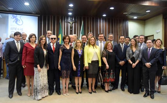 Sessão Solene em Homenagem ao Dia do Advogado. Foto: João Gilberto