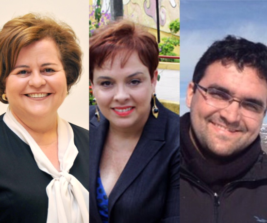 Tatiana, karla Motta e Rodrigo leite homenageiam Miguel Josino