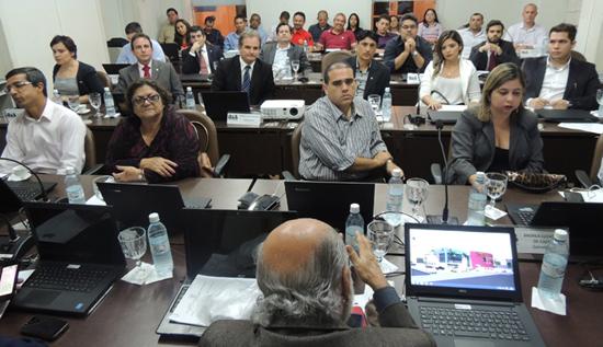 advogados criminalistas na reunião do Conslelho da OAB