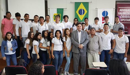 Estudantes tem palestra na OAB com ANAMATRA