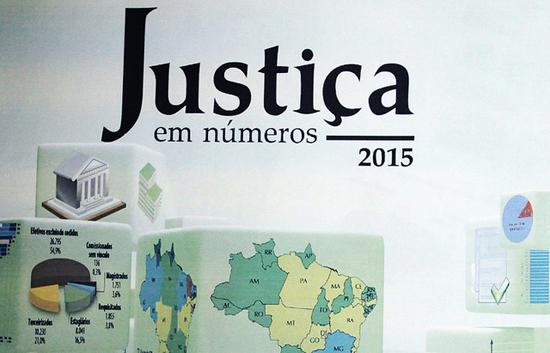 Justiça em Números 2015