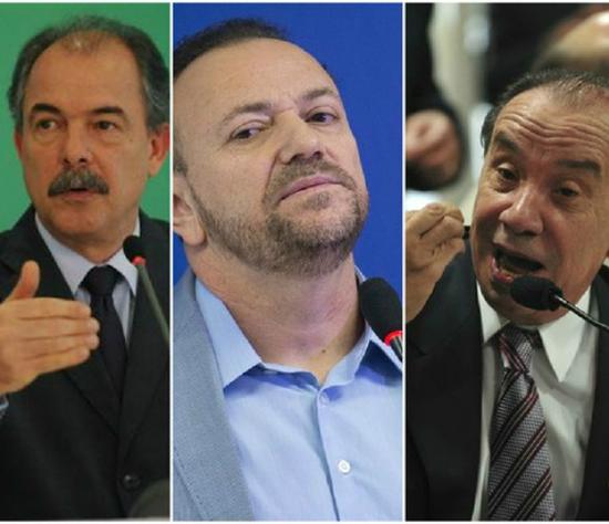 Mercadante, Edinho e Aloysio serão investigados