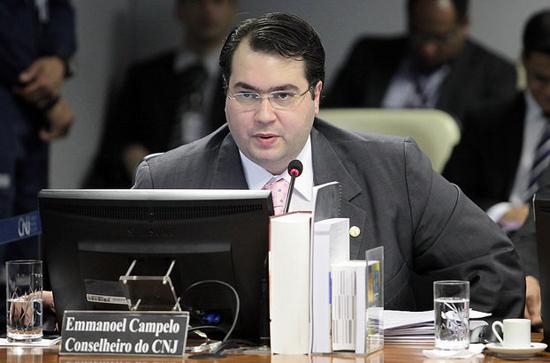 Conselheiro do CNJ Emmanoel Cammpelo1