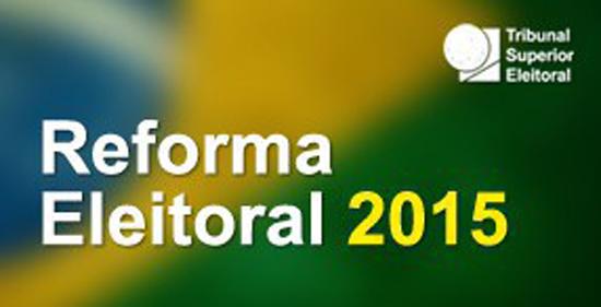 Logo reforma política
