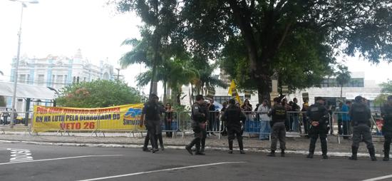 Protesto no TJRN