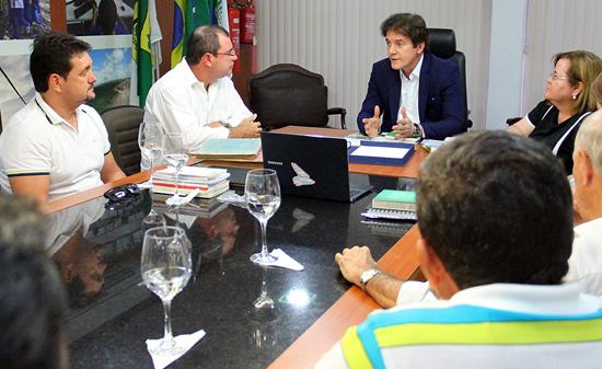Reunião Governo e Aeroclube