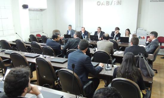 Comissão eleitoral da OAB em julgamento