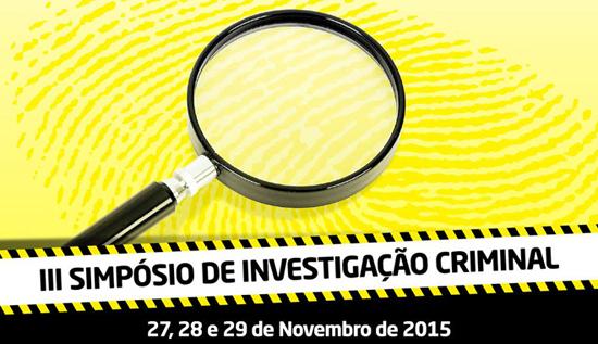 III Simpósio de Investigação Criminal
