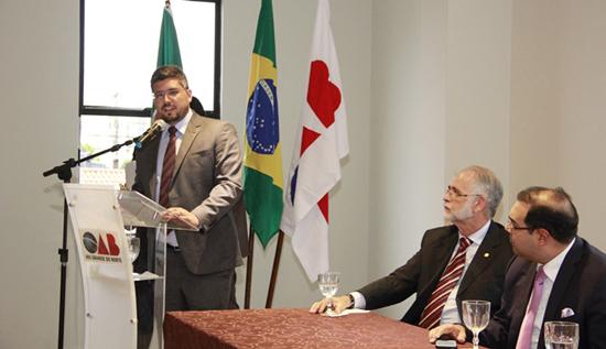 Conselheiro da OABRN Pablo Pinto