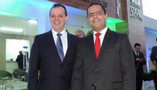Sérgio Freire com Paulo Coutinho