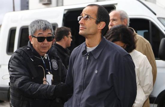 Marcelo Odebrecht com o japonês