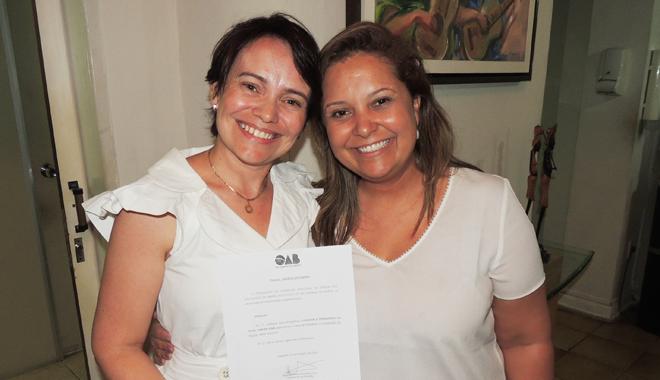 Advogada Elisângela Fernandes é reconduzida à Comissão de Saúde da OAB