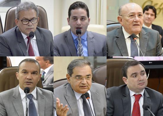 Presidentes das comissões da ALRN