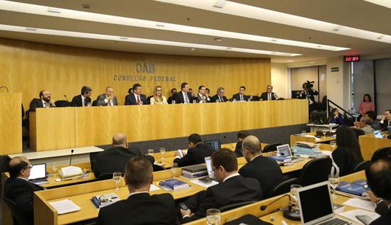 Sessão da OAB Nacional