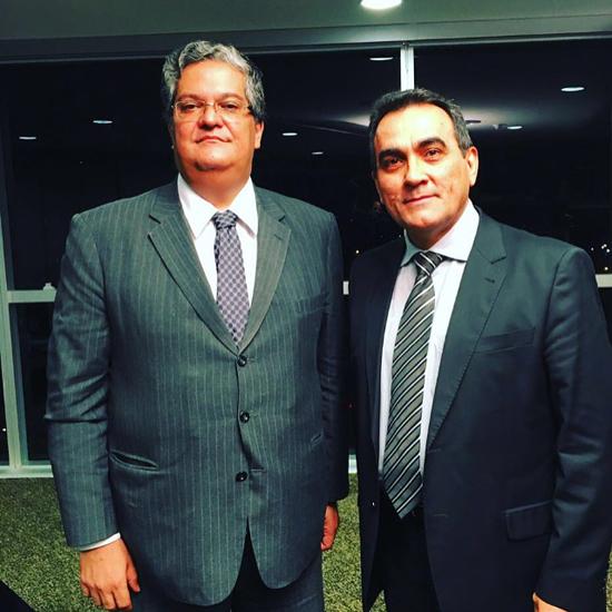 Ministro Henrique Neves e Diógenes Dantas