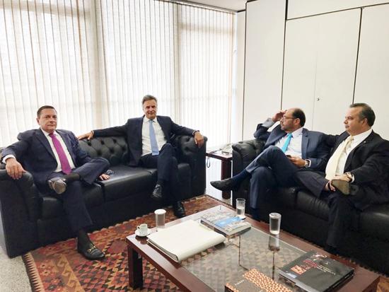 Ezequiel Ferreira cumpre agenda em Brasília (1)