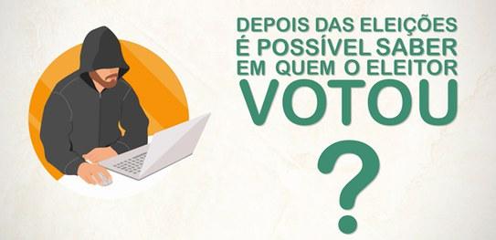 """TSE divulga nas redes sociais o sexto vídeo da campanha """"Mitos Eleitorais"""""""