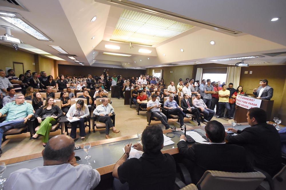 DEBATE NA ASSEMBLEIA MOBILIZA SETOR DA CONSTRUÇÃO EM BUSCA DE RECURSOS FEDERAIS