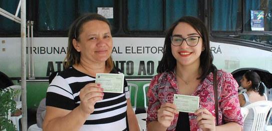 TRE do Ceará atinge a marca de meio milhão de eleitores com biometria em Fortaleza