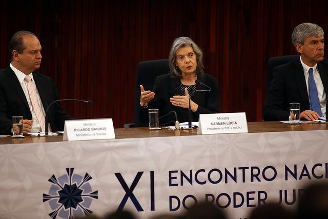 Ministra Carmén Lúcia lança plataforma para subsidiar decisões com evidência médica