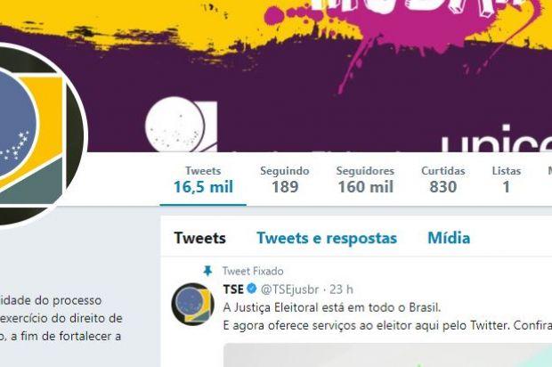 TSE lança atendimento virtual inédito no Twitter