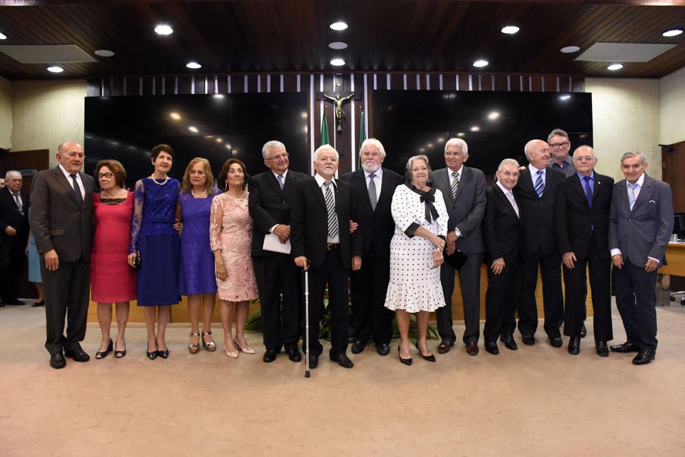 Assembleia do RN celebra 50 anos de turma de medicina da UFRN