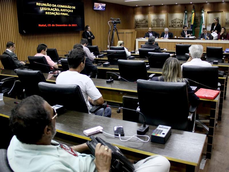 Comissão poderá pedir revogação de leis que estão em desuso na Câmera de Natal