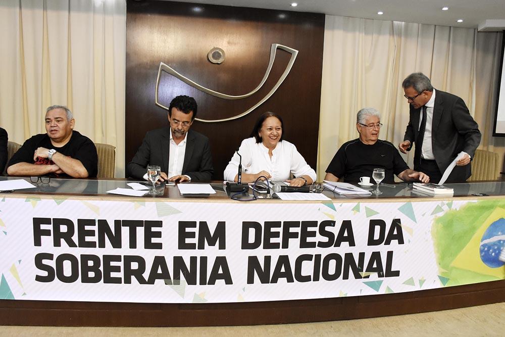 Frente parlamentar em defesa da soberania nacional é lançada na Assembleia do RN