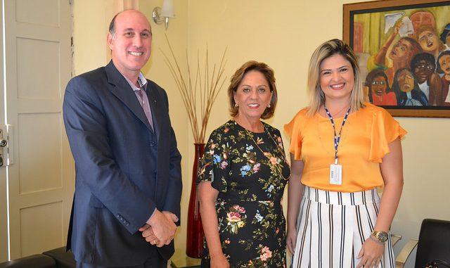 Prefeita de Mossoró e integrantes do CIEE falam de parcerias para beneficiar jovens com oportunidade de emprego e aprendizagem