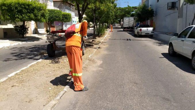Prefeitura de Mossoró disponibiliza equipes da Secretaria de Serviços Urbanos no final de semana