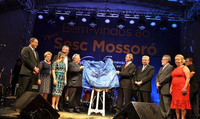 Vice-prefeita de Mossoró participa da reinauguração da Unidade do SESC Mossoró