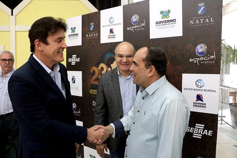 Governador destaca investimentos no artesanato durante lançamento da 23ª Fiart