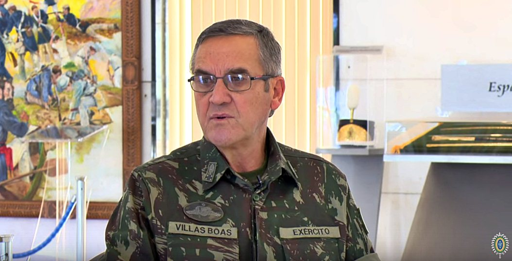 Intervenção militar seria enorme retrocesso, diz comandante do Exército