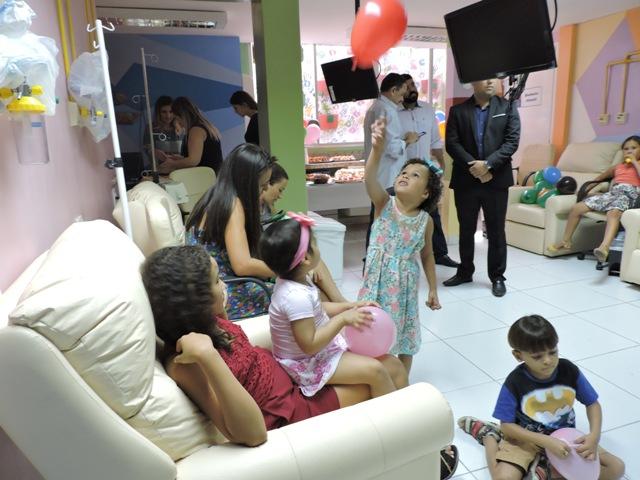 OAB Mossoró entrega sala de quimioterapia infantil reformada