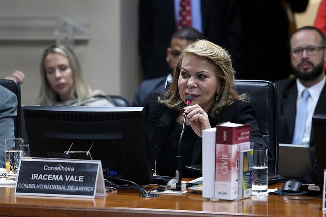A desembargadora Iracema Vale é eleita ouvidora titular do CNJ