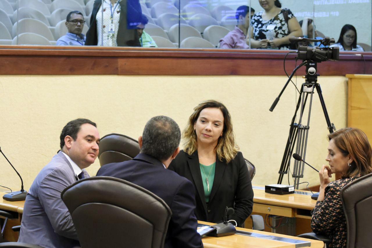 Deputados Kelps, Gustavo, Larissa e Márcia