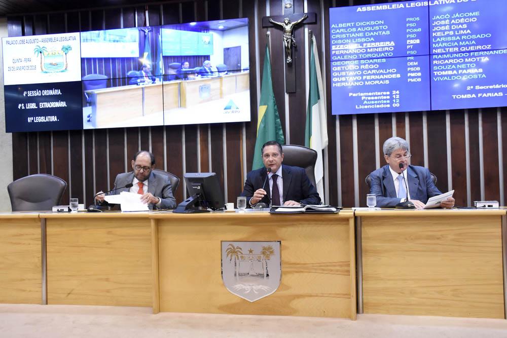 Ezequiel Ferreira reivindica serviços para cidades das regiões central e agreste