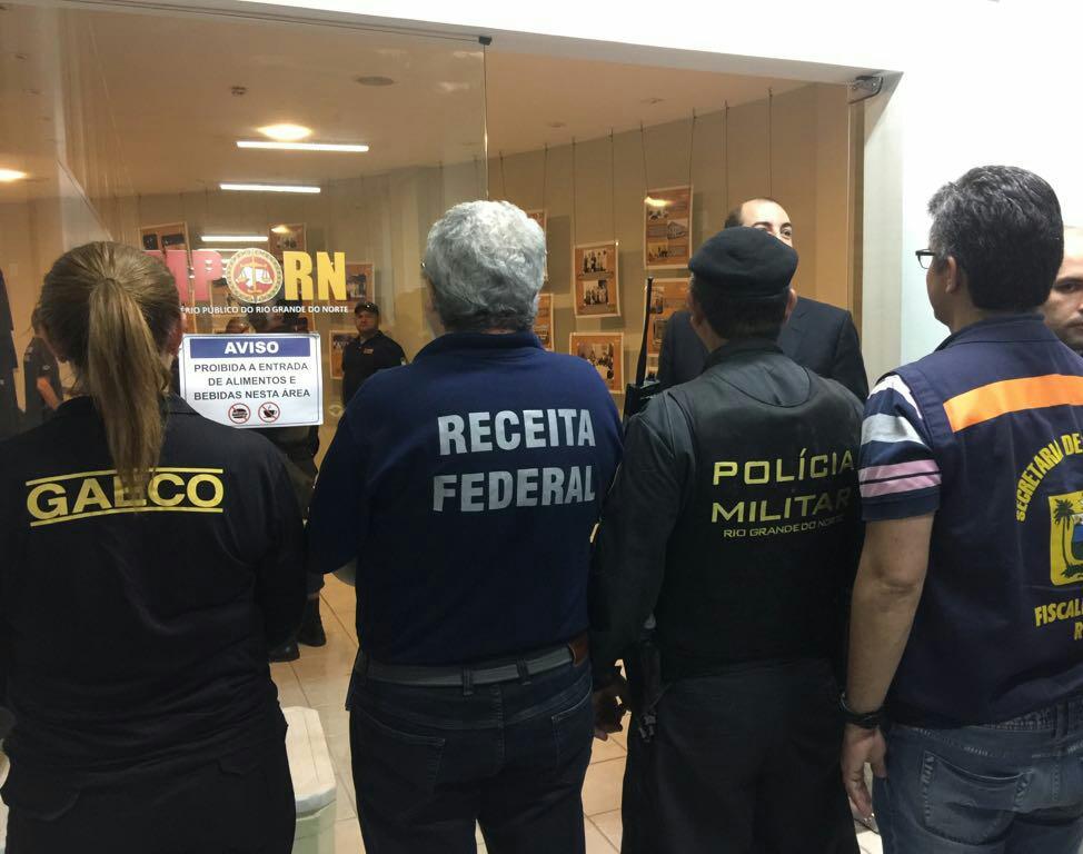 MPRN, Secretaria de Tributação e Receita Federal deflagram operação de combate à sonegação fiscal
