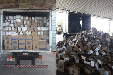 TRE-DF doa oito toneladas de documentos para cooperativas de materiais recicláveis