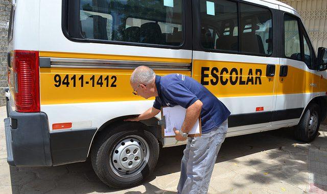 Vistoria de veículos de transporte escolar segue até 09 de fevereiro em Mossoró