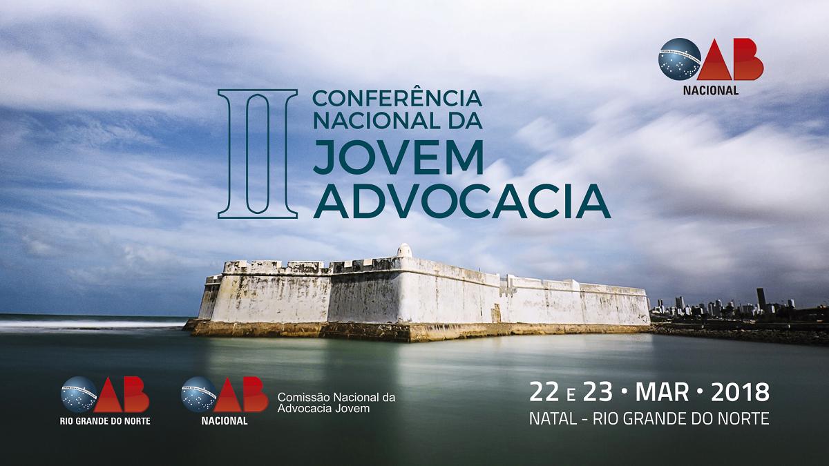 II Conferência Nacional da Jovem Advocacia acontece nos dias 22 e 23