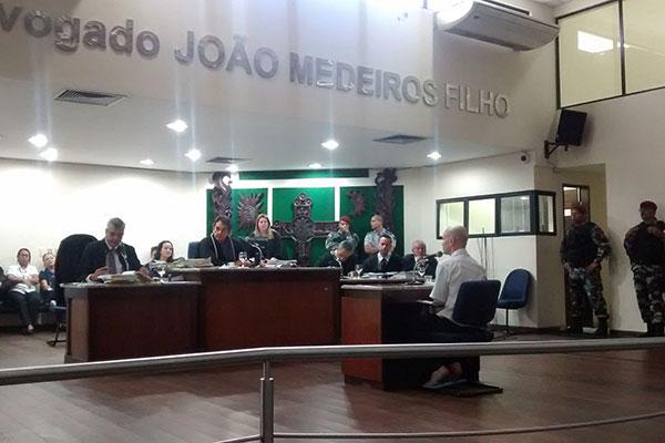 Júri condena empresário a 13 anos de reclusão