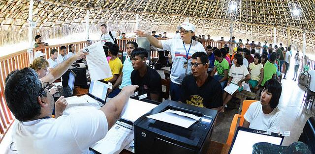 Judiciário leva cidadania a índios isolados do Norte do Brasil