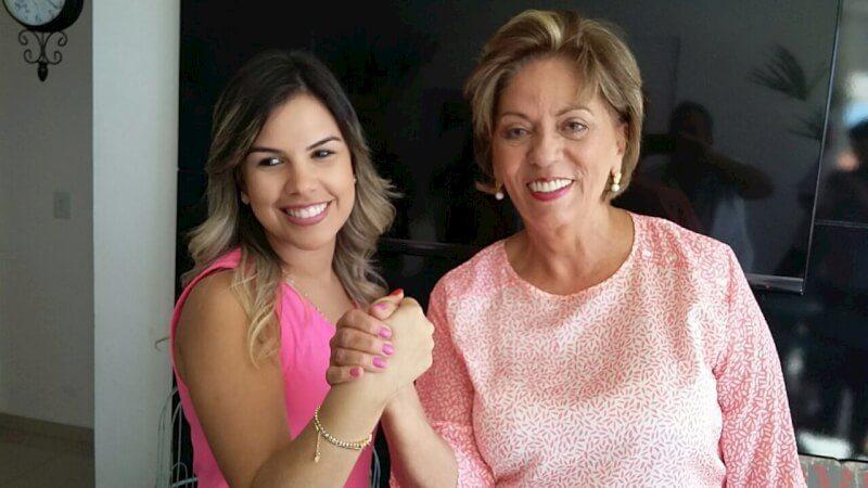 Rosalba com a vice
