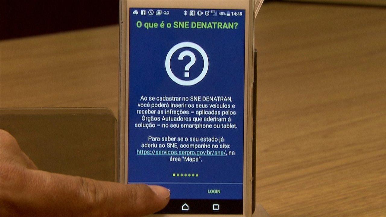 Aplicativo permite transferir pontos de multas pelo celular em SP