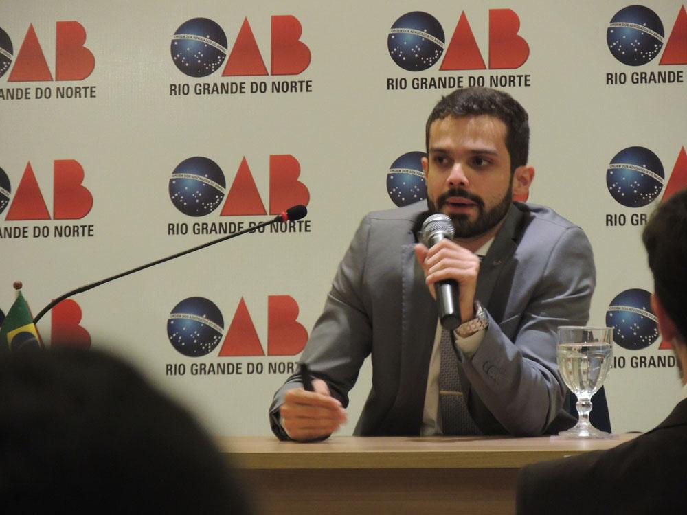 Gabriel Bulhões é nomeado membro da Comissão Especial de Estudo do Direito Penal