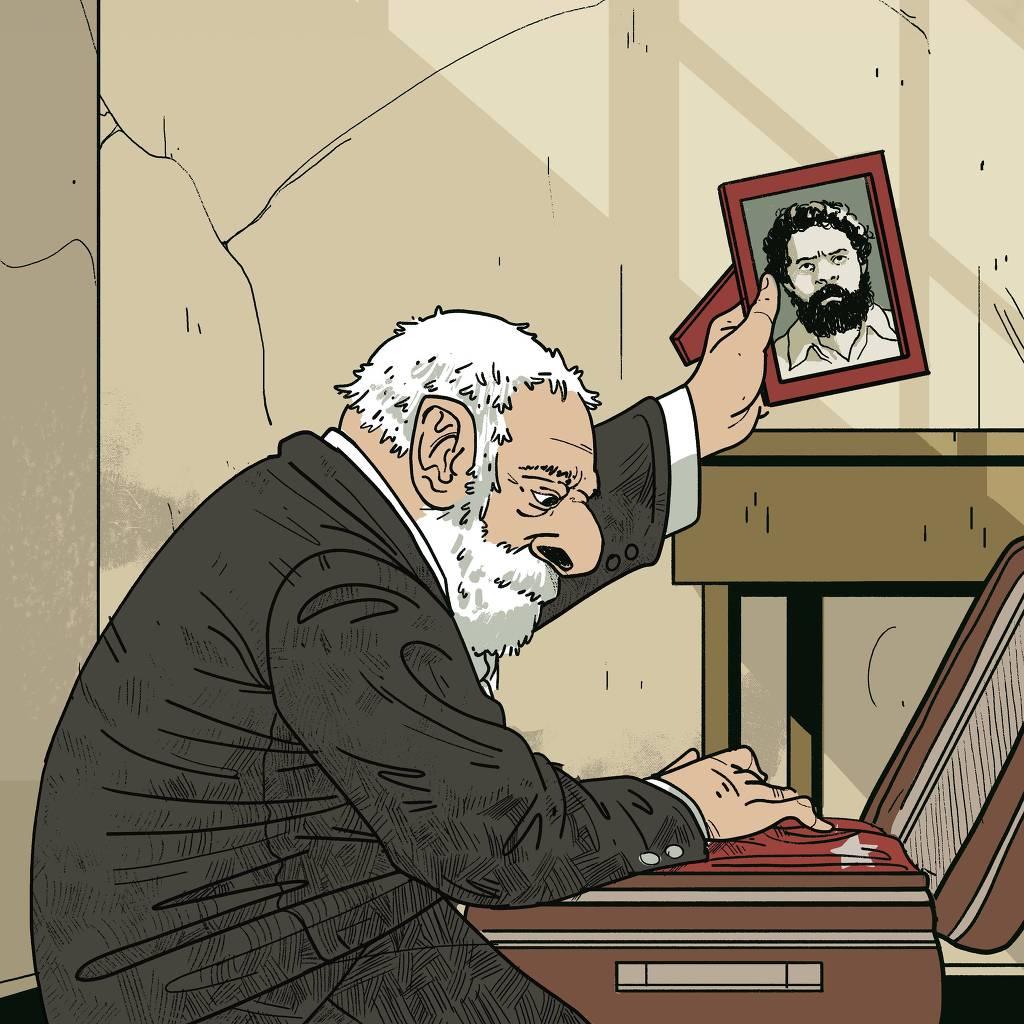 Lula e o quadro