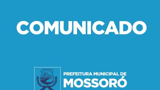 Prefeitura de Mossoró antecipa para hoje pagamento do salário dos servidores