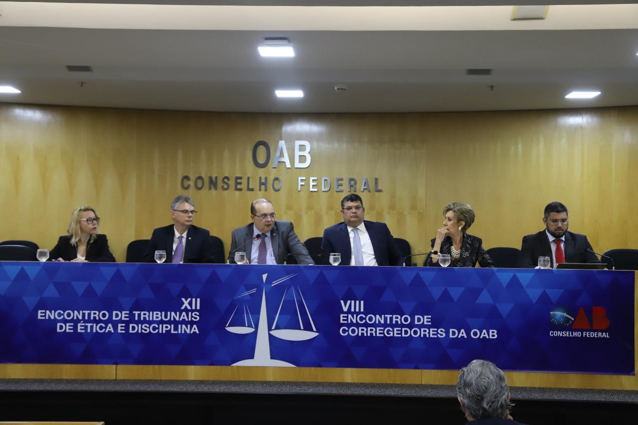 Presidentes de Tribunais de Ética e corregedores se reúnem em Brasília
